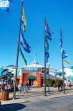 Известная пристань 39 на порте Сан-Франциско, Калифорнии Стоковое Изображение