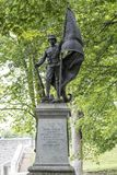 Известная статуя войны в Квебеке (город), Канаде в полноте стоковое изображение