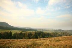 известная таблица Польши национального парка гор g Стоковые Изображения RF