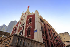 Известная церковь zhushutang amoy города, фарфора Стоковая Фотография