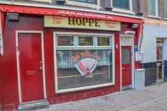 Известное кафе Bolle январь на Амстердаме Нидерланды стоковые фото