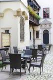 Известное кафе Roma, Краков, Польша Стоковые Фотографии RF