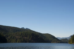известное озеро harrison горячее скачет взгляд Стоковое Изображение RF