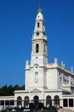 известное святилище fatima Португалии Стоковые Фотографии RF