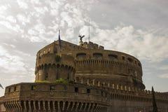 Известное ` Angelo Castel Sant Рима стоковое изображение rf
