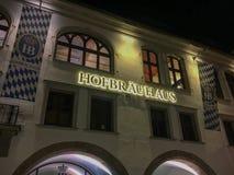 Известное Hofbraeuhaus Мюнхен Стоковые Изображения RF