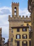 Известное Palazzo Vecchio в Флоренсе - дворец Vecchio в историческом центре города стоковое фото