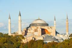 известное sophia istanbul hagia стоковое изображение