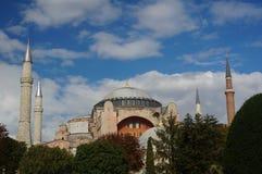 известное sophia istanbul hagia Стоковое Изображение RF