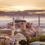 известное sophia istanbul hagia стоковые фото