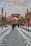 известное sophia istanbul hagia стоковые фотографии rf