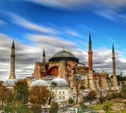 известное sophia istanbul hagia стоковое фото