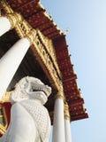 Известное Wat Benjamaborphit (мраморный висок) в Бангкоке, Таиланде Стоковые Фото