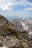 Известные высокогорные доломиты Стоковая Фотография