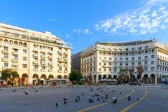 Известные гостиницы на квадрате Аристотеля стоковая фотография