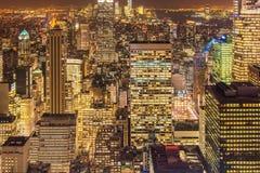 Известные небоскребы Нью-Йорка Стоковые Фото