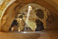 Известные пещеры Beit Guvrin колокольни в Израиле Стоковые Изображения