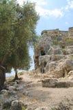 Известные старые руины Стоковая Фотография RF