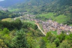 Известные традиционные деревни стоковое фото rf