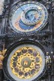 Известные часы в Праге стоковые фотографии rf