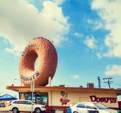 Известные Donuts Рэнди в Лос-Анджелесе Стоковые Изображения RF
