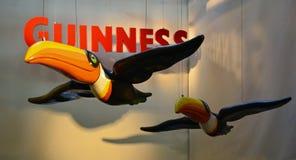 Известные toucans Гиннесса в фабрике Дублине Стоковое Изображение RF
