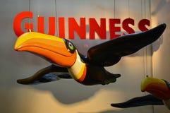Известные toucans Гиннесса в фабрике Дублине Стоковое Фото