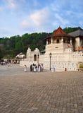 Известный буддийский висок реликвии зуба, КАНДИ, ШРИ-ЛАНКА Стоковая Фотография