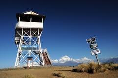известный взгляд poon пункта Непала холма Стоковые Фото