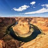 Известный взгляд horseshoe загиба Стоковое Фото