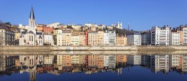 Известный взгляд Lyon Стоковые Изображения