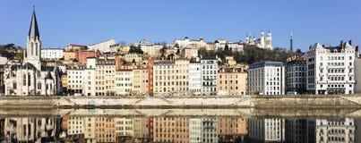 Известный взгляд Lyon Стоковая Фотография RF