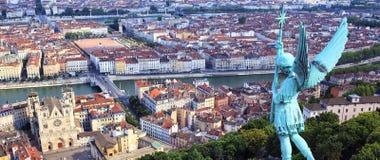 Известный взгляд Lyon Стоковое Изображение RF