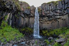 Известный водопад в Исландии стоковое фото