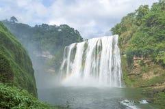 известный водопад Huangguoshu Стоковое фото RF
