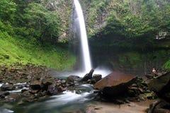 известный водопад la fortuna Стоковые Фотографии RF