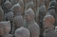 Известный во всем мире ратники глины Стоковое Изображение RF