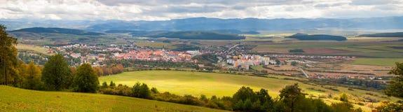 Известный городок Levoca, Словакии. Место всемирного наследия ЮНЕСКО Стоковые Изображения RF
