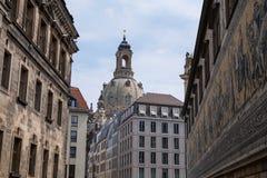 Известный дворец Zwinger в Дрездене стоковое фото rf