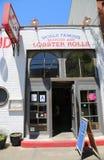 Известный красный ресторан фунта омара крюка в Бруклине, Нью-Йорке стоковая фотография