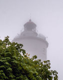 Известный маяк на южном Oland, Швеции стоковая фотография