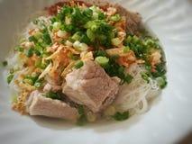 Известный меню еды улицы Таиланда Стоковые Фото