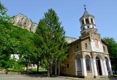 Известный монастырь Майкл Архангела St. Dryanovo стоковая фотография rf