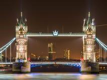 Известный мост башни Стоковые Изображения