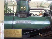 Известный музей поезда в Англии преследовал комнаты стоковое изображение