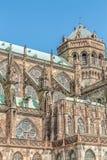 Известный Нотр-Дам de Страсбург Стоковая Фотография RF
