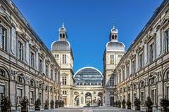 Известный оперный театр в Лионе стоковое фото rf