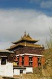 известный пейзаж Тибет lamasery стоковая фотография