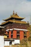 известный пейзаж Тибет lamasery стоковые изображения rf