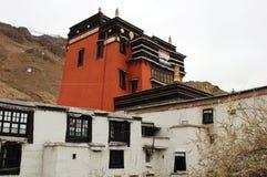 известный пейзаж Тибет lamasery Стоковые Фото